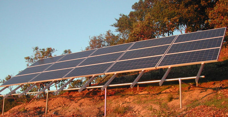 Prosolar Hillside Solar Array