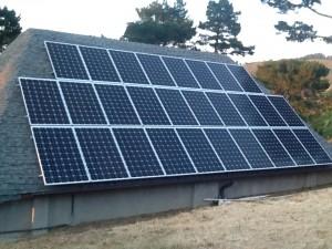 self-installed solar panel