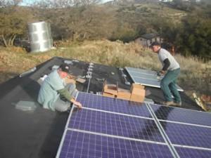self-installed solar