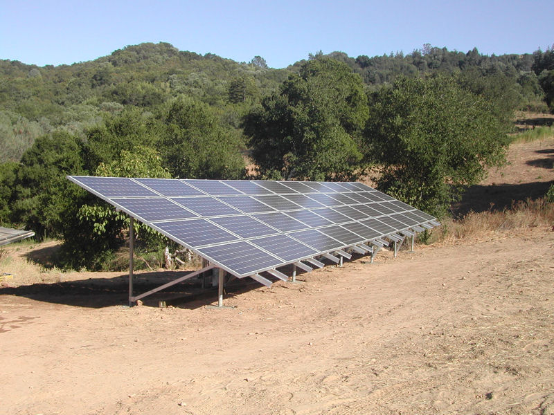 Grid Tied Solar Array