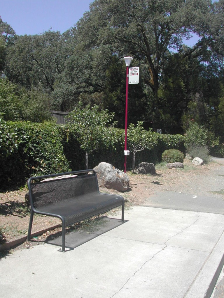 Solar Lights for Bus Stops