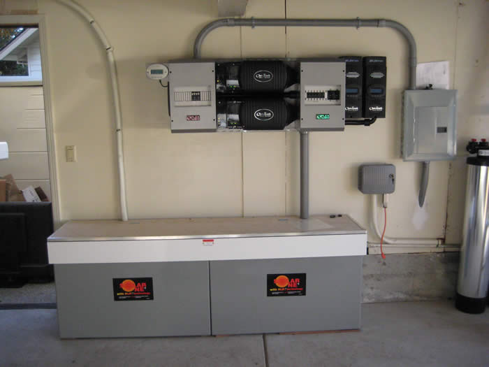 Outback Power Panel Installation